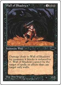 Magic the Gathering Chronicles Single Card Common Wall of Shadows
