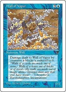 Magic the Gathering Chronicles Single Card Common Wall of Vapor