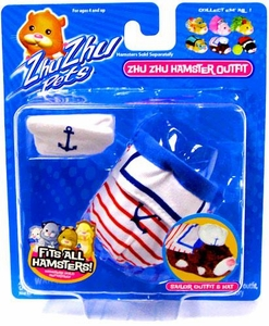 Zhu Zhu Pets Series 1 Hamster Outfit Sailor [Hamster NOT Included!]
