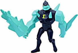 Ben 10 LOOSE 4 Inch Action Figure DiamondHead V.2 [Blue Uniform]