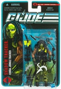 GI Joe Pursuit of Cobra 3 3/4 Inch Action Figure Shadow Tracker [Cobra Jungle Tracker]