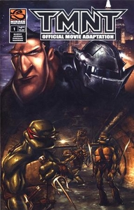 Teenage Mutant Ninja Turtles TMNT Movie Comic Book Official Movie Adaptation