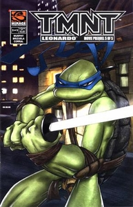 Teenage Mutant Ninja Turtles TMNT Movie Comic Book Prequel #5 Leonardo