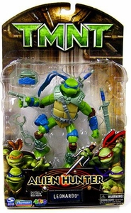Teenage Mutant Ninja Turtles TMNT Alien Hunter Action Figure Leonardo