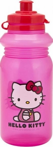 Hello Kitty 16oz. Water Bottle With Pull Top