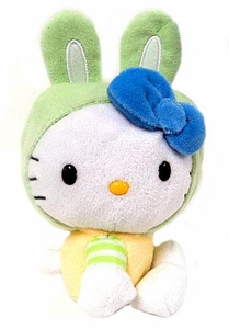 Hello Kitty Easter Plush Green Bunny Ears