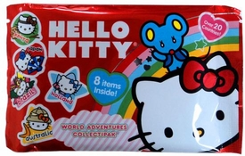 Upper Deck 2010 Hello Kitty World Adventures Collectipak Red [No Miniature Figure]