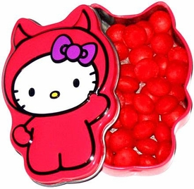 Hello Kitty Candy Tin Lil' Devil Cinnamon Hots