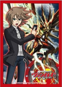 Cardfight!! Vanguard Card Supplies Japanese Size Card Sleeves Toshiki Kai [53 Count]