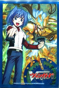 Cardfight!! Vanguard Card Supplies Japanese Size Card Sleeves Aichi & Garmore [53 Count]