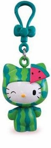 Hello Kitty Molded Clip-Ons Watermelon