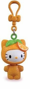 Hello Kitty Molded Clip-Ons Tangerine