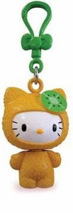 Hello Kitty Molded Clip-Ons Kiwi