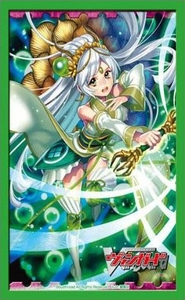 Cardfight!! Vanguard Card Supplies Japanese Size Card Sleeves Emerald Witch Lala