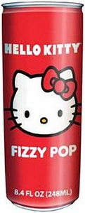 Hello Kitty Non-Caffeinated Flavored Drink Fizzy Pop