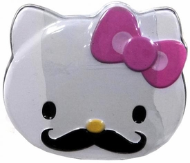 Hello Kitty Candy Tin Sweet Staches [Pink Bow]