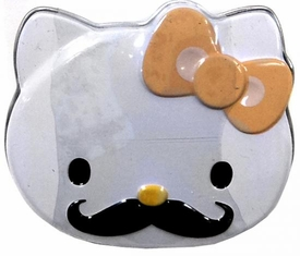 Hello Kitty Candy Tin Sweet Staches [Yellow Bow]