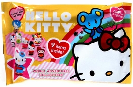 Upper Deck 2010 Hello Kitty World Adventures Collectipak Yellow [Contains 1 Hello Kitty Miniature Figure]