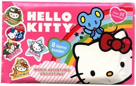 Upper Deck 2010 Hello Kitty World Adventures Collectipak Pink [No Miniature Figure]