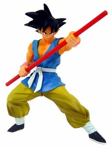 Dragon Ball Z BanPresto 5 Inch Mini PVC Statue Goku with Bo