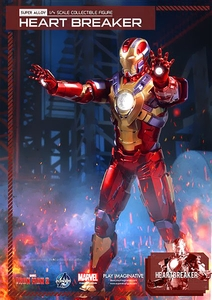 Iron Man 3 Play Imaginative Super Alloy 1/4 Scale Collectible Figure Iron Man Heartbreaker Pre-Order ships October