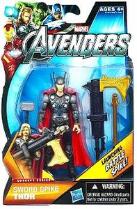 Marvel Avengers Concept 4 Inch Action Figure Sword Spike Thor [Launching Battle Spike!]