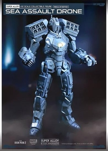 Iron Man 2 Play Imaginative Super Alloy 1/12 Scale Collectible Figure Sea Assault Drone Pre-Order ships October