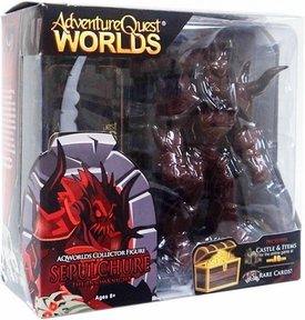Adventure Quest Worlds Deluxe Action Figure Sepulchure The Doom Knight