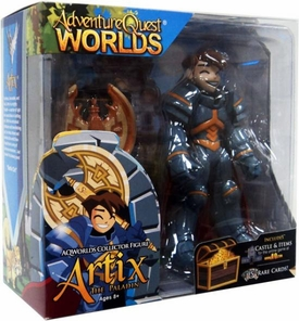 Adventure Quest Worlds Deluxe Action Figure Artix the Paladin