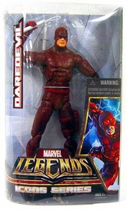 Marvel Legends Icons 12 Inch Hasbro Action Figure Daredevil [Red Costume]