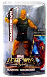 Marvel Legends Icons 12 Inch Hasbro Action Figure Daredevil [Black & Yellow Costume]