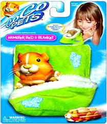 Zhu Zhu Pets Hamster Bed & Blanket [Green]