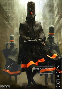 Foxbox Studios Sixthvision 1/6 Scale Set of 3 Collectible Figures State of Alarm Pre-Order ships May