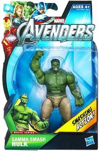 Marvel Avengers Movie 4 Inch Action Figure Gamma Smash Hulk [Smashing Action!]