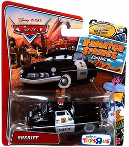 Disney / Pixar CARS Radiator Springs Classic Exclusive 1:55 Die Cast Car Sheriff