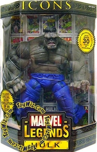Marvel Legends Icons 12 Inch Series 2 Action Figure Grey Hulk [Variant]