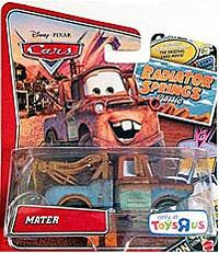Disney / Pixar CARS Radiator Springs Classic Exclusive 1:55 Die Cast Car Mater