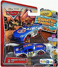 Disney / Pixar CARS Radiator Springs Classic Exclusive 1:55 Die Cast Car Lil Torquey Pistons
