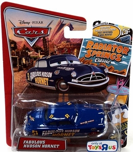 Disney / Pixar CARS Radiator Springs Classic Exclusive 1:55 Die Cast Car Fabulous Hudson Hornet