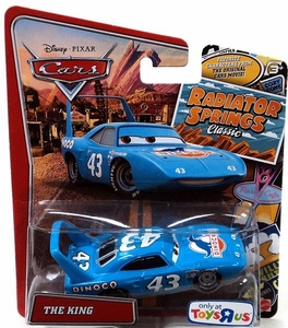 Disney / Pixar CARS Radiator Springs Classic Exclusive 1:55 Die Cast Car The King