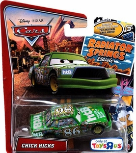 Disney / Pixar CARS Radiator Springs Classic Exclusive 1:55 Die Cast Car Chick Hicks