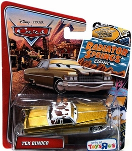 Disney / Pixar CARS Radiator Springs Classic Exclusive 1:55 Die Cast Car Tex Dinoco