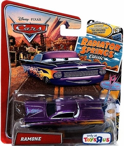 Disney / Pixar CARS Radiator Springs Classic Exclusive 1:55 Die Cast Car Ramone [Purple]