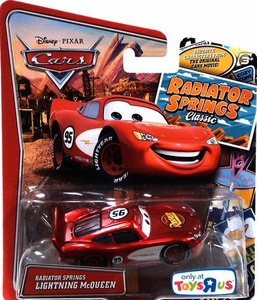 Disney / Pixar CARS Radiator Springs Classic Exclusive 1:55 Die Cast Car Radiator Springs Lightning McQueen