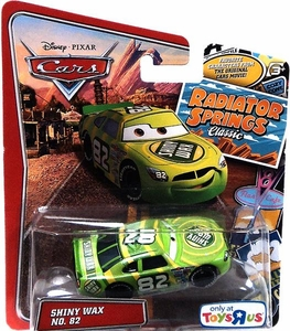 Disney / Pixar CARS Radiator Springs Classic Exclusive 1:55 Die Cast Car Shiny Wax No. 82