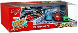 Disney / Pixar CARS Radiator Springs Classic Exclusive 1:55 Die Cast 10-Pack Three Way Tie