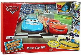 Disney / Pixar CARS Radiator Springs Classic Exclusive Playset Piston Cup 500 Track Set