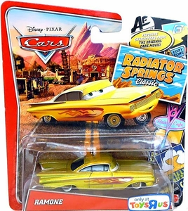 Disney / Pixar CARS Radiator Springs Classic Exclusive 1:55 Die Cast Car Ramone [Gold]