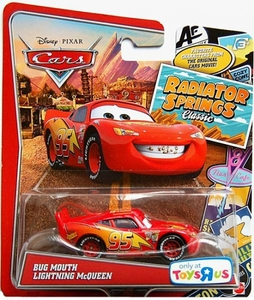 Disney / Pixar CARS Radiator Springs Classic Exclusive 1:55 Die Cast Car Bug Mouth Lightning McQueen