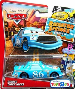 Disney / Pixar CARS Radiator Springs Classic Exclusive 1:55 Die Cast Car Dinoco Chick Hicks